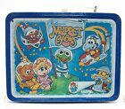 Vintage Muppet Babies The Muppets Steel Lunch Box Jim Henson 1985
