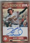 2011 PLAYOFF CONTENDERS HENRY OWENS BOSTON RED SOX ROOKIE ON CARD AUTOGRAPH AUTO