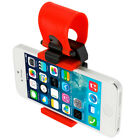 Universal Car Steering Wheel Bike Clip Mount Holder For Phones iPod