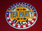TEA PARTY TAKE OUR COUNTRY BACK PIN PINBACK BUTTON d771