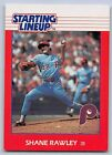 1988   SHANE RAWLEY - Kenner Starting Lineup Card - PHILADELPHIA PHILLIES