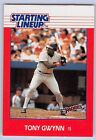 1988  TONY GWYNN - Kenner Starting Lineup Card - SAN DIEGO PADRES