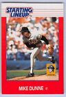 1988  MIKE DUNNE - Kenner Starting Lineup Card - PITTSBURGH PIRATES