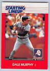 1988  DALE MURPHY - Kenner Starting Lineup Card - ATLANTA BRAVES