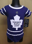 Reebok NHL Toronto Maple Leafs Infant Creeper NWT 0 3 3 6 or 6 9 Months
