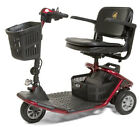 Golden LiteRider 3 Wheel Portable Mobility Electric Scooter Red Mfg Direct NEW
