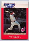 1988  PAT TABLER - Kenner Starting Lineup Card - CLEVELAND INDIANS