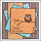 BABY WHOOT OWL U get photo  2Lkexample ART IMPRESSIONS RUBBER STAMPS