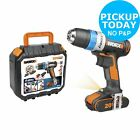 WORX WX178 Max AI Cordless Drill Driver - 20V. From the Argos Shop on ebay