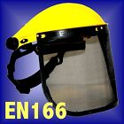 MESH SHIELD VISOR forestry hedge cutting chainsaw hat