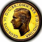 1937 King George VI Great Britain Gold Proof Five Pounds £5 PCGS PR63 DCAM