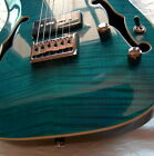 Sweet Electric Guitar Raven West Ocean Blue Flame HOT P-90's