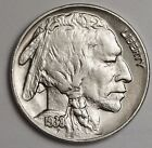 1938-d/s Buffalo Nickel.  A.U.  113285