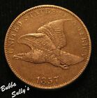 1857 Flying Eagle Cent  EXTREMELY FINE