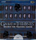 GAME OF THRONES SEASON 6 TRADING CARDS BOX