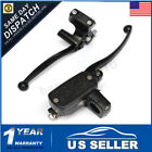 Pair 1″ 25mm Black Motorcycle Brake Master Cylinder Clutch Hydraulic Lever USA