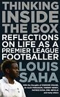 SIGNED Louis Saha Autobiography Thinking Inside the Box Football book