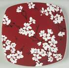 222 Fifth MIA BLOSSOMS-RED Salad Plate 7300313
