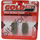 Brake Pads Goldfren Front Right Adly Cat 100 1997-2001