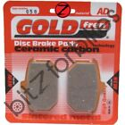 Brake Pads Goldfren Rear Harley Davidson FXB 1340 Sturgis 1980 to 1982