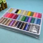 39 Spools 100 Polyester Sewing Quilting Threads Set All Purpose Multi Color