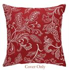 "Pillow Cover - Stitches in Red by Park Designs - 20"" X 20"" - Christas"