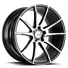 20x8 Savini Wheels Black Di Forza BM12 BM Light Weight Rims