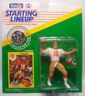 1991 JOE MONTANA - Starting Lineup - SLU - Sports Figurine - SAN FRANCISCO 49ERS