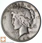 1922 S Peace Silver Dollar San Francisco Minted 90 Silver 438