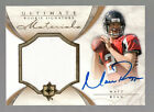 MATT RYAN 2008 ULTIMATE COLLECTION MATERIALS ON CARD AUTO JERSEY #41 99 FALCONS