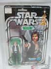 KENNER VINTAGE MOC 1978 STAR WARS NEW HOPE 12 BACK HAN SOLO SMALL HEAD AFA 80