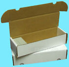 10 BCW 660 COUNT CARDBOARD CARD STORAGE BOXES Trading Sport Holder Case Baseball