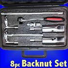 Plumbers Tap Back Nut & Connection Wrench Set 1/2 3/4 15 22mm basin sink box