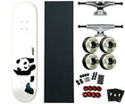 Enjoi 775 Panda Pro Skateboard Complete with Tensor Trucks Bones Wheels