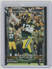 AARON RODGERS Packers SIGNED 2015 Topps Football #309 Autograph ON CARD AUTO