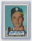 BRAVES Eddie Mathews signed card 1997 Topps Rookie Reprint #407 AUTO Autographed