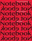Dot Grid Notebook 1/4 Inch Squares 160 Pages: Notebook Not eBook with Red Cover,