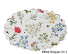 Placemat Wildflower by Park Designs Kitchen Dining Quilted Scalloped Oval