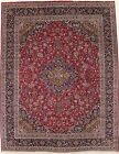 Traditional Handmade S Antique Kashmar Persian Rug Oriental Area Carpet 10X13
