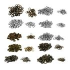 100Pcs 5 6 8 10 12mm Metal Eyelets Grommet Scrapbook Stamping Leather Craft DIY