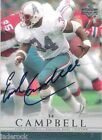 Earl Campbell 2000 Upper Deck NFL Legends Signature Auto graph #EC