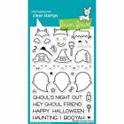 Lawn Fawn Clear Stamps BOOYAH Halloween Ghoul Ghost