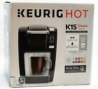 Keurig Hot K15 Classic Series Single Serve Coffee Maker (NEW OTHER)