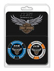 Harley Davidson 115th Anniversary Collectors Poker Chip Packs Blue