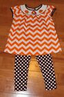 Boutique Emily Rose Smocked Girls 3T Thanksgiving Outfit by Rare Editions 2 pc