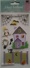 Halloween Haunted House Dimensional Sticker Jolees Boutique