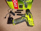 Ryobi R7SD-L13G 7.2V Cordless Lithium Drill Driver in Very Good Condition