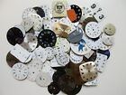 Lot of 125 vintage wrist watch dials ~ for crafts