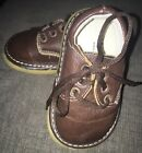 Wee Squeak Baby Boy Brown Shoes Size 4