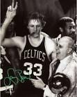 NBA Boston Celtics Larry Bird Autographed 8